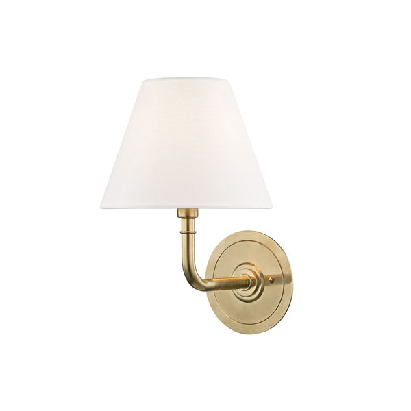 Cape Sconce in Brass