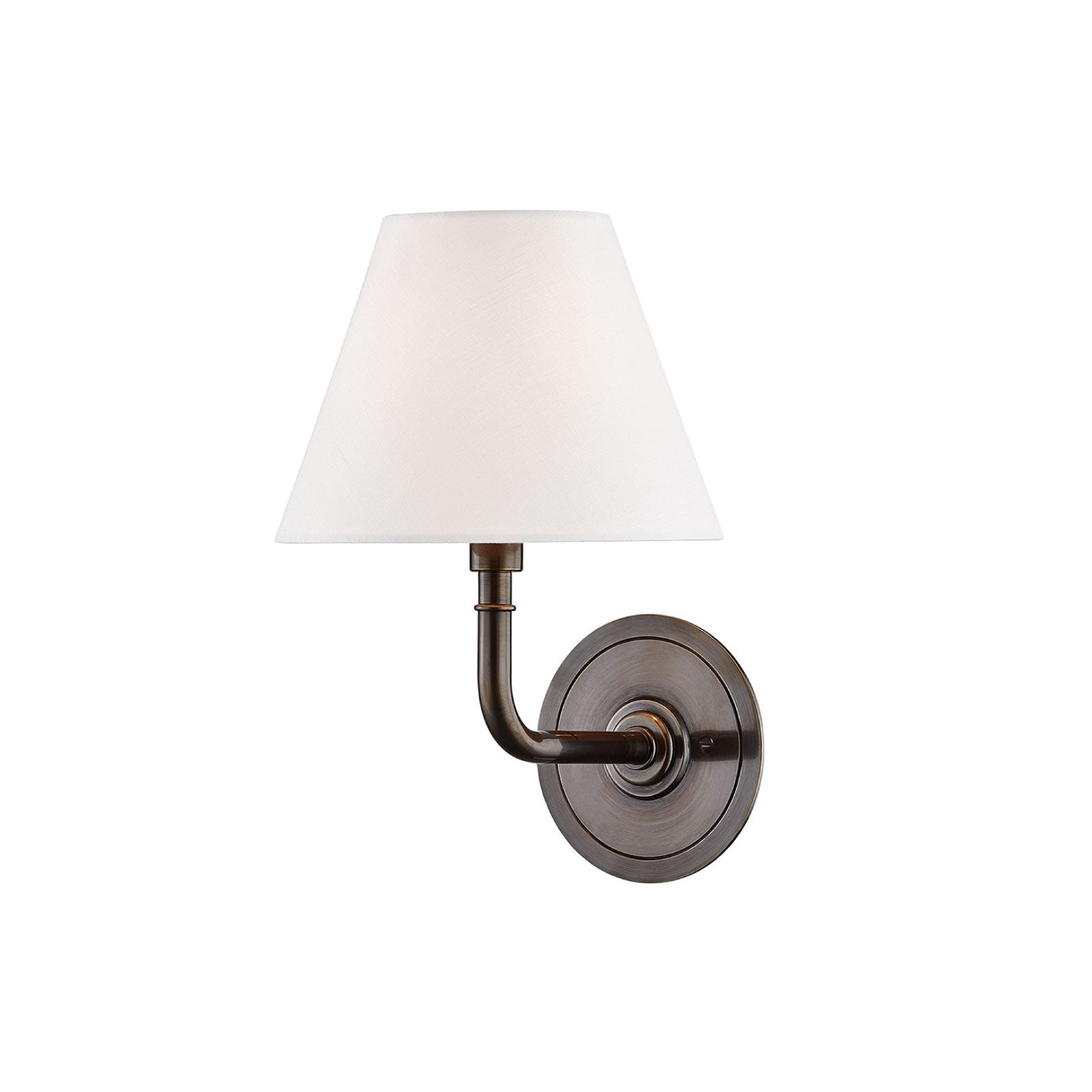Cape Sconce in Bronze