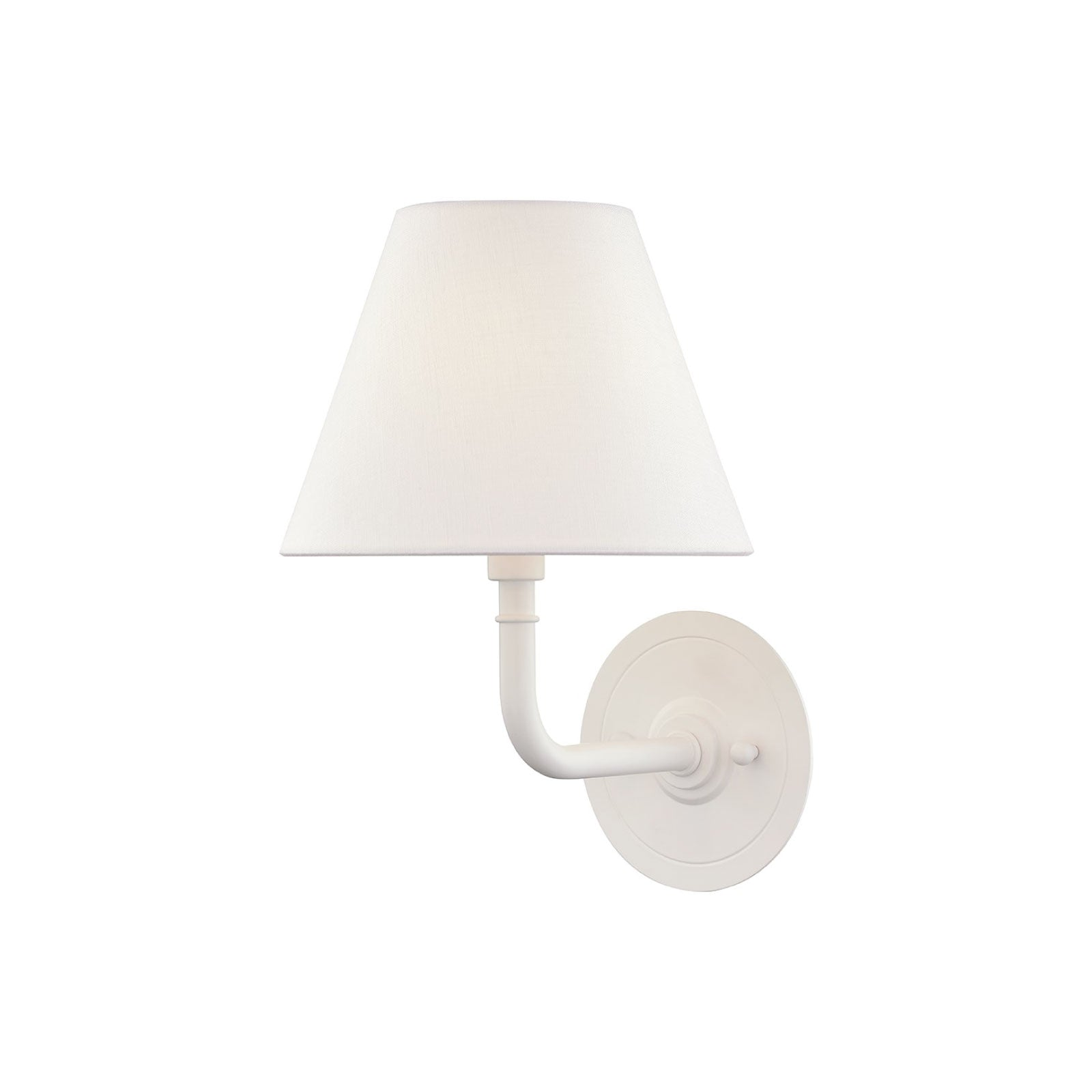 Cape Sconce in White