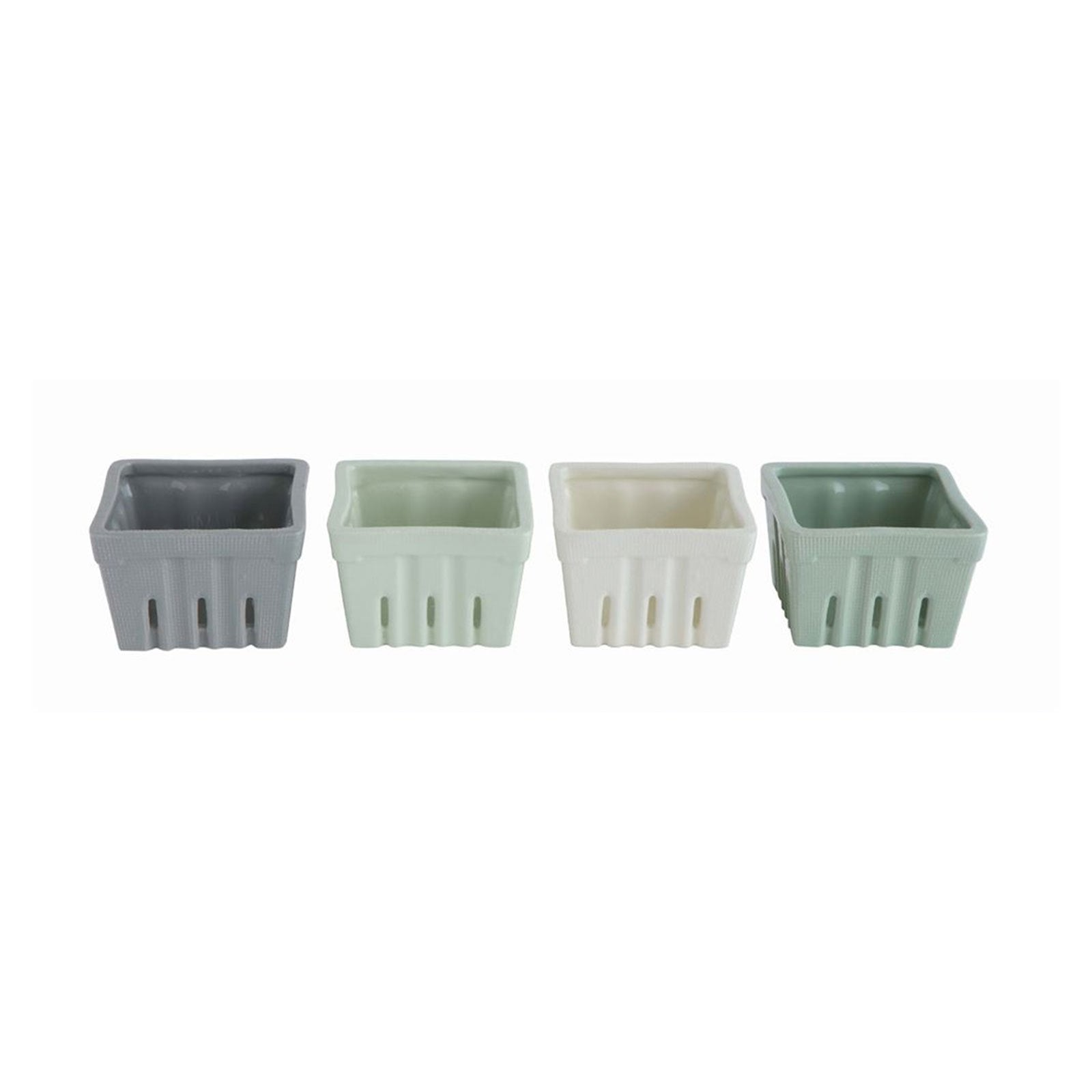 Ceramic Berry Container Set of 4