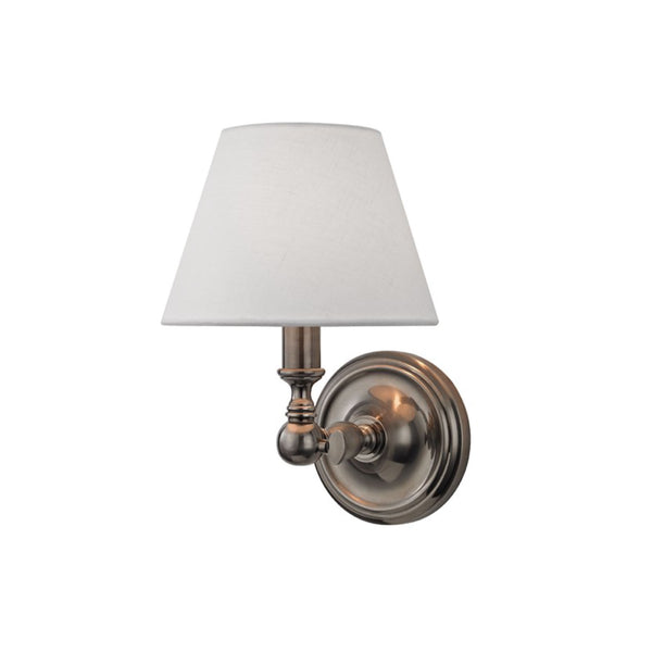 Club Sconce in Antique Nickel