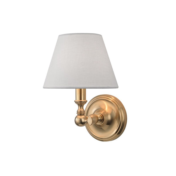Club Sconce in Brass