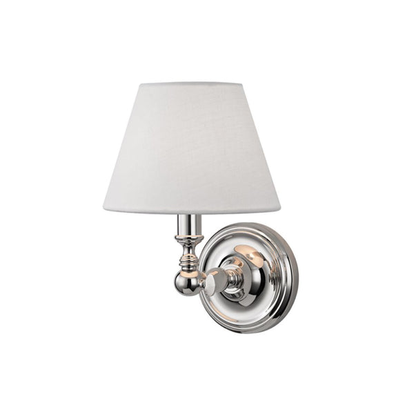 Club Sconce in Polished Nickel