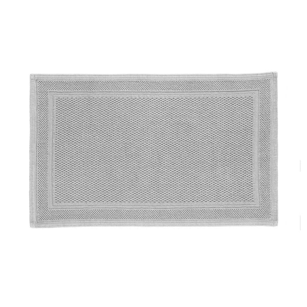 Cotton Bath Rug in Grey