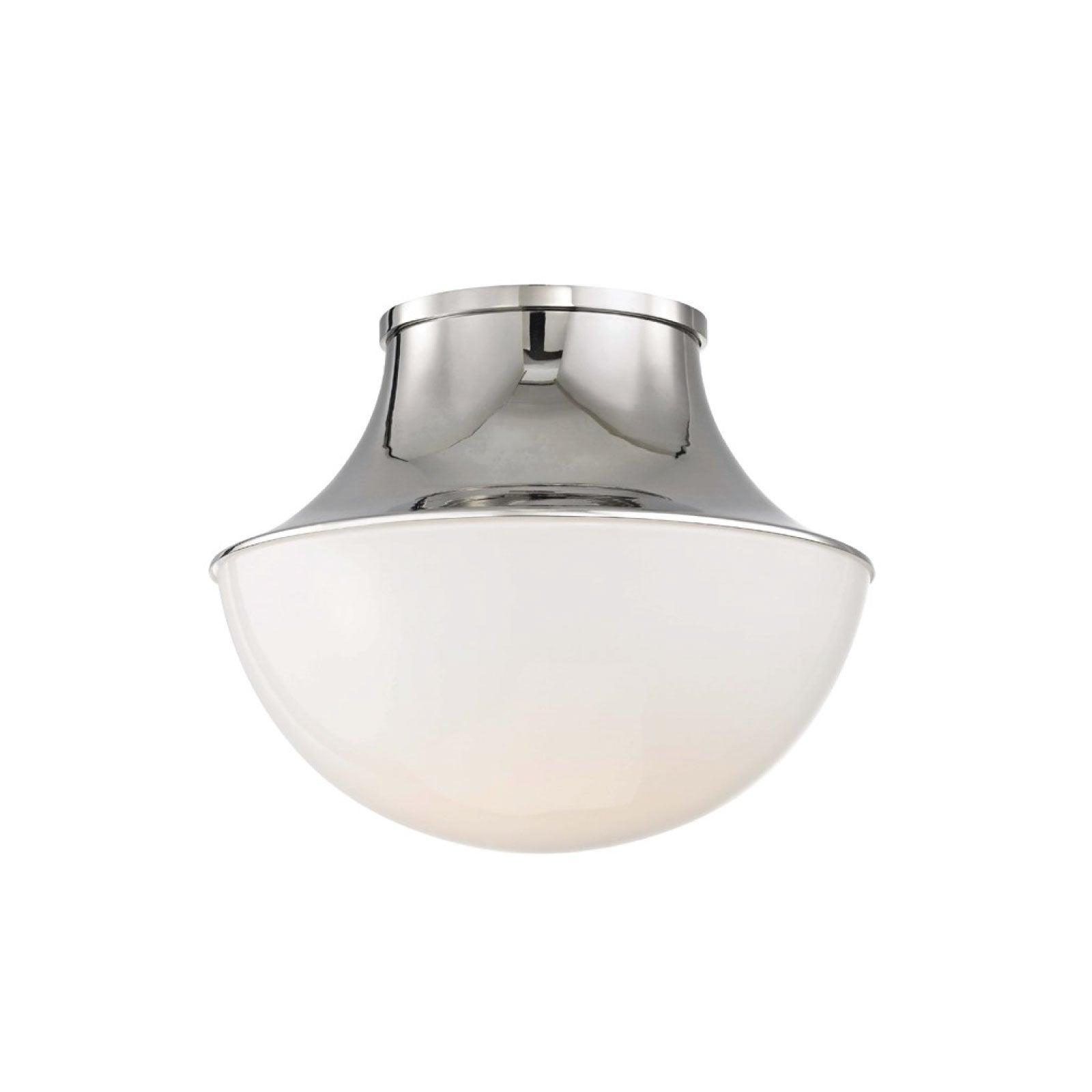 Crosby Flush Mount in Nickel - Large