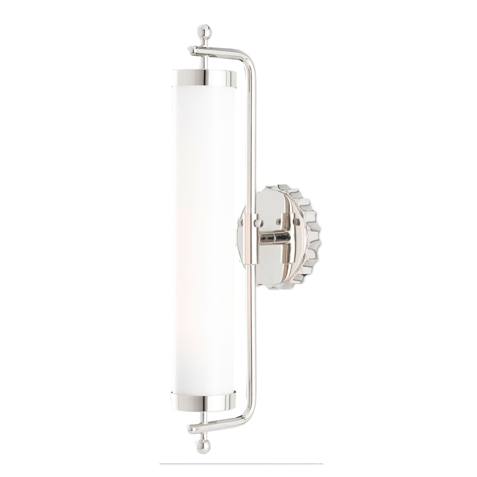 Daisy Wall Sconce in Nickel