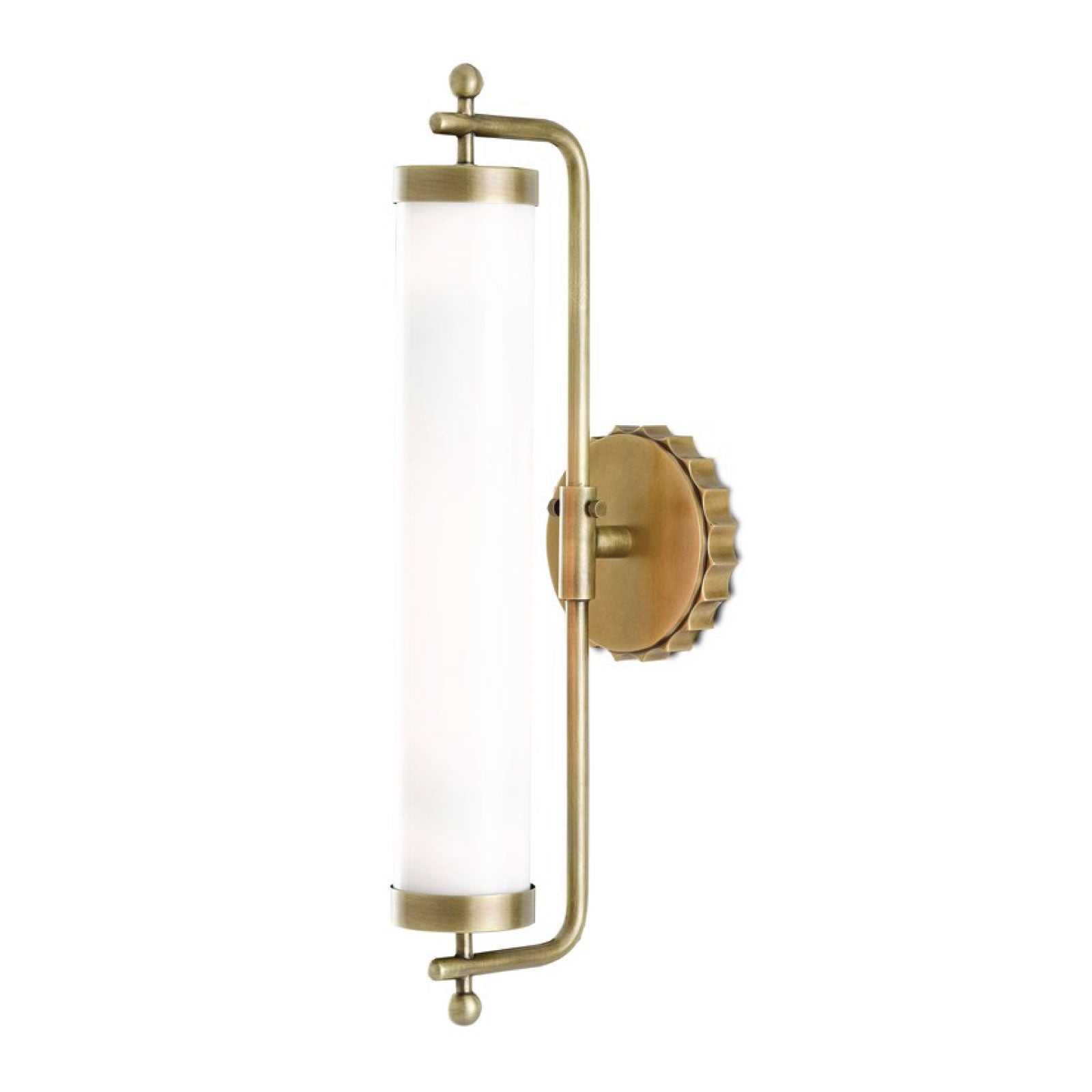 Daisy Wall Sconce in Brass