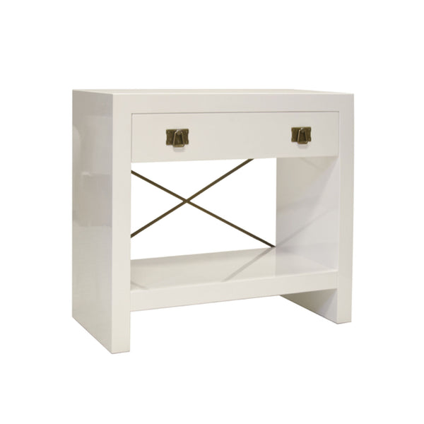Jones Side Table in White