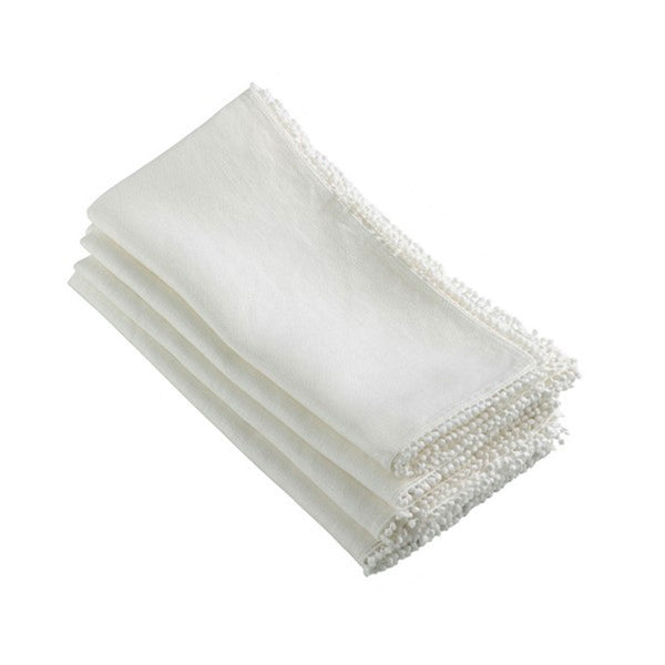 Dolly Napkins in Off White - Set of 6