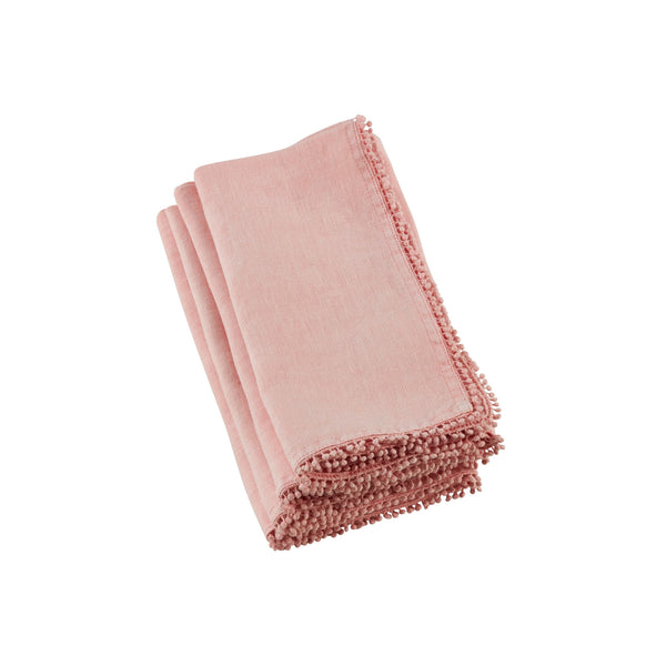 Dolly Napkins in Soft Coral - Set of 6