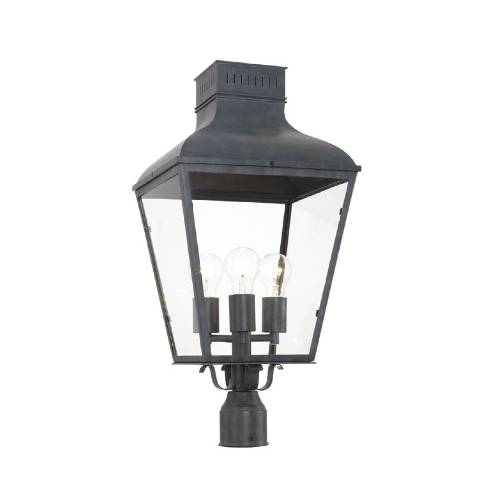 Dumas Outdoor Light Post Mount - Large