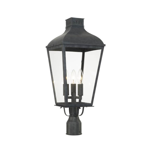 Dumas Outdoor Light Post Mount - Small