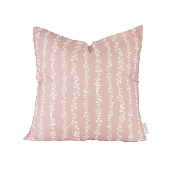 Somerset Pillow in Dusty Pink