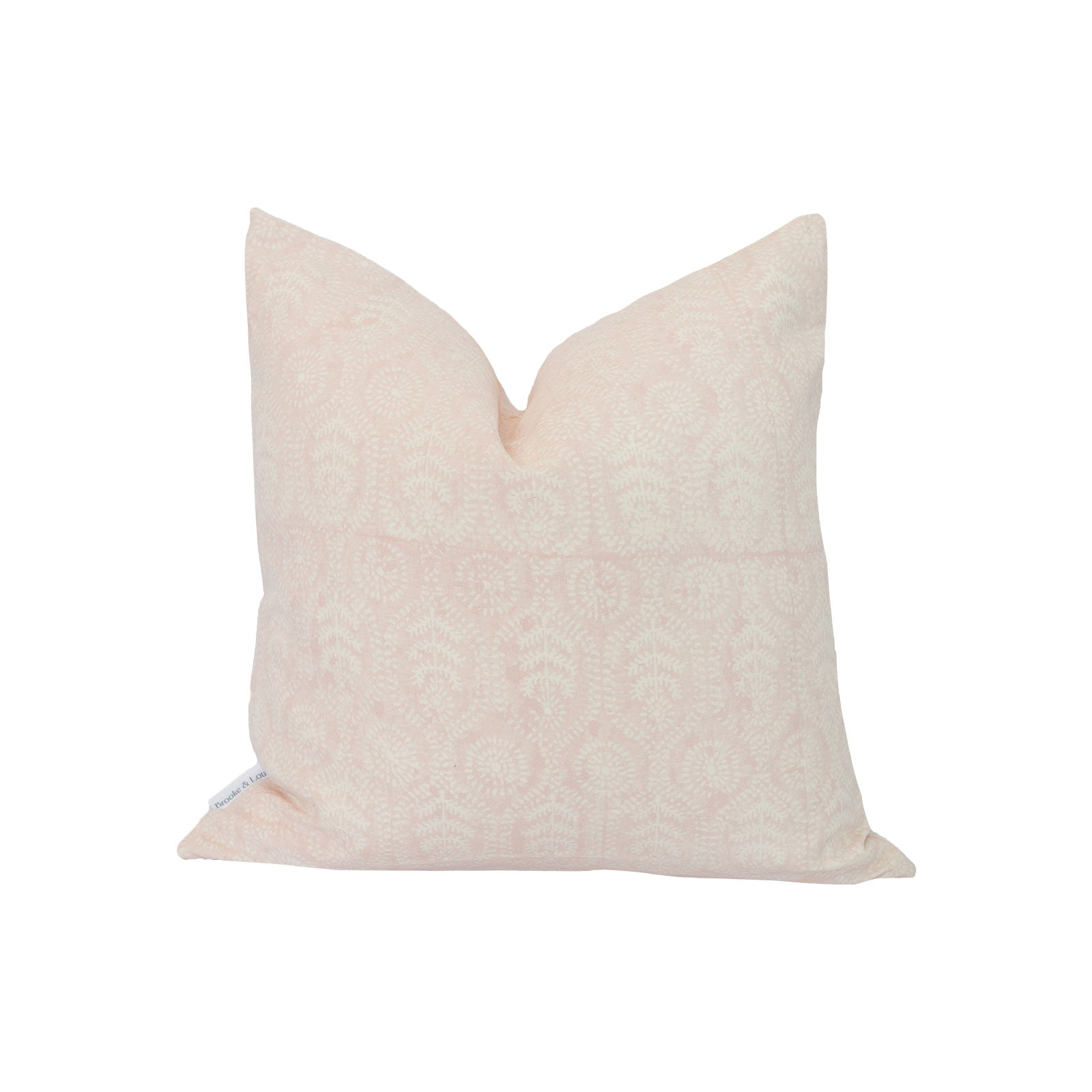 Ella Pillow in Crystal Pink