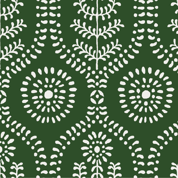 Ella Fabric in Evergreen