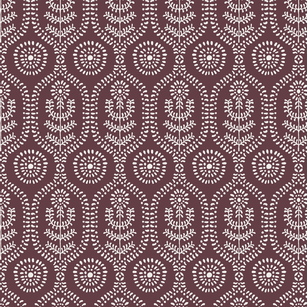 Ella Fabric in Cranberry