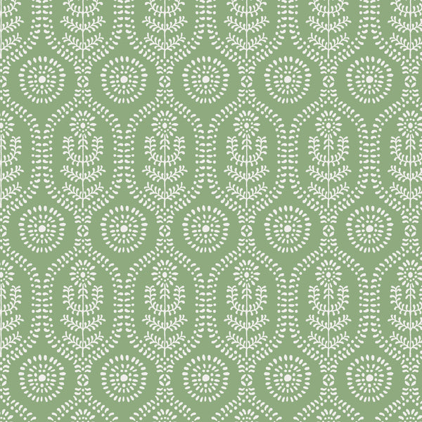 Ella Fabric in Frosted Green