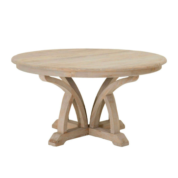 English Round Dining Table