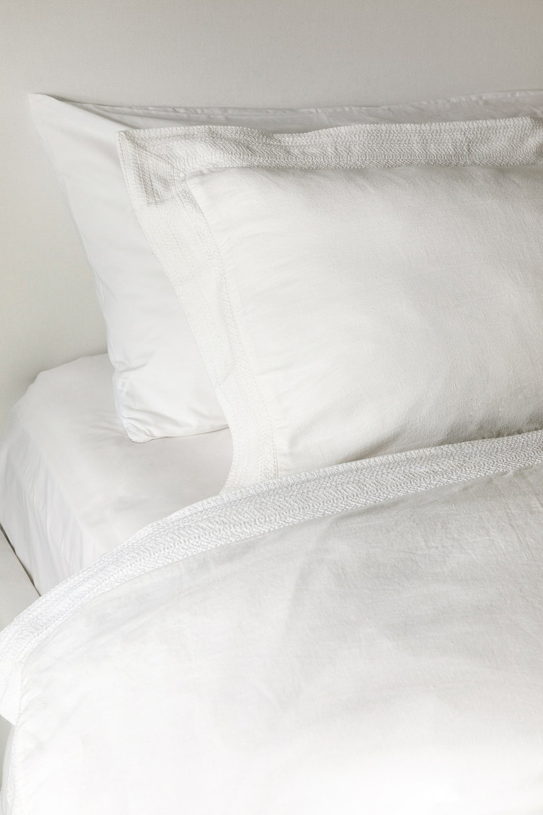 Paloma Duvet Cover in White