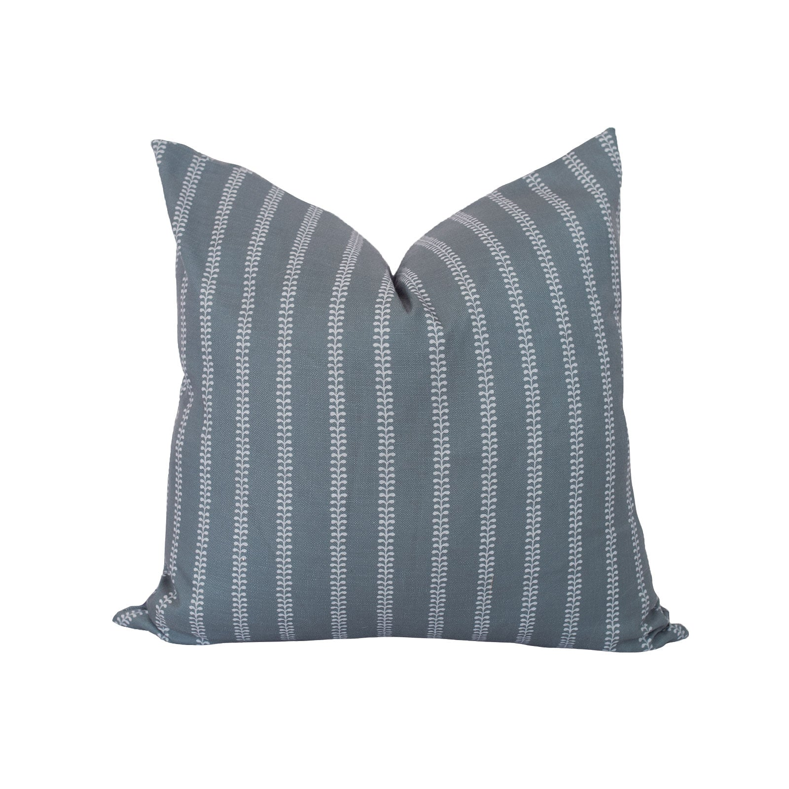 Fern Pillow in Navy