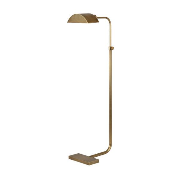 Fitz Floor Lamp in Brass
