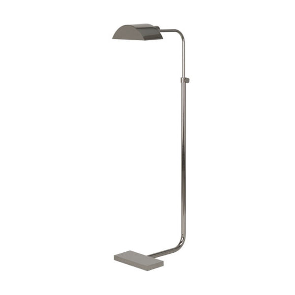 Fitz Floor Lamp in Nickel
