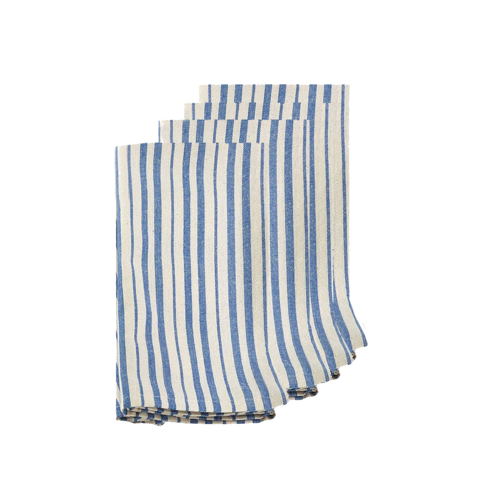French Blue Striped Napkins