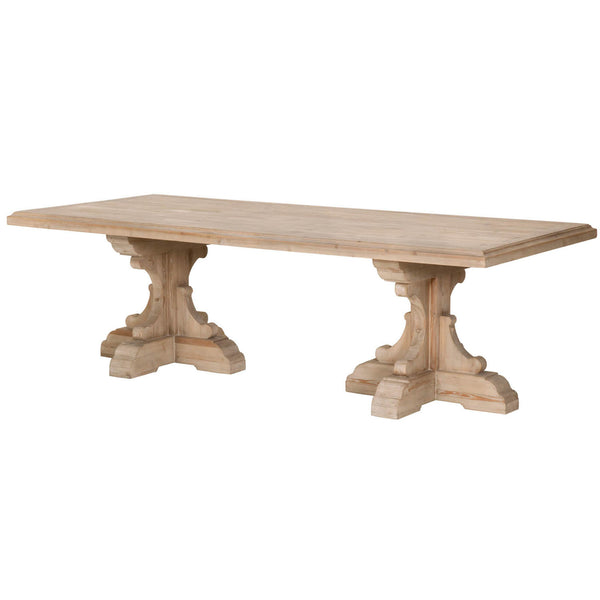 French Pine Dining Table