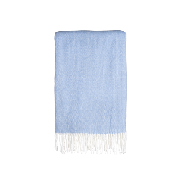 Gemma Throw in French Blue