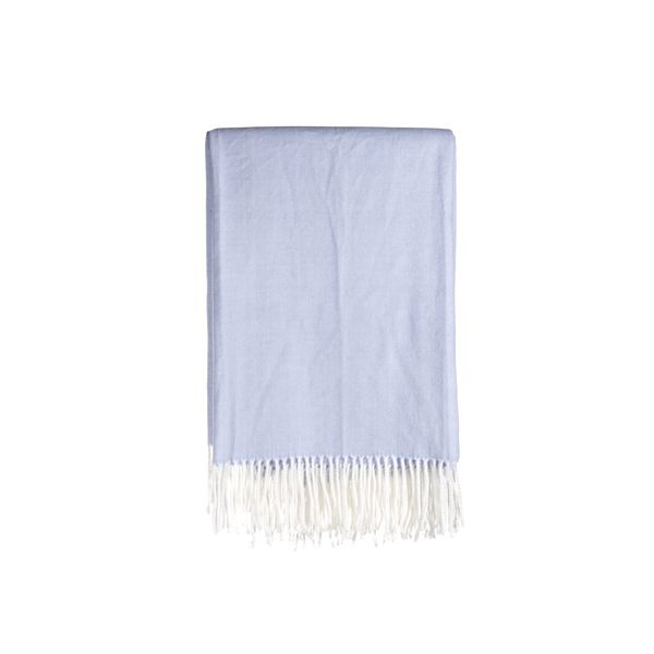 Gemma Throw in Periwinkle