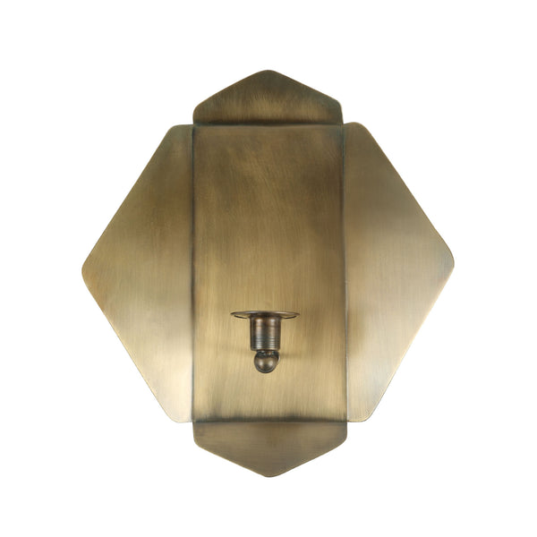 Geometric Candle Sconce