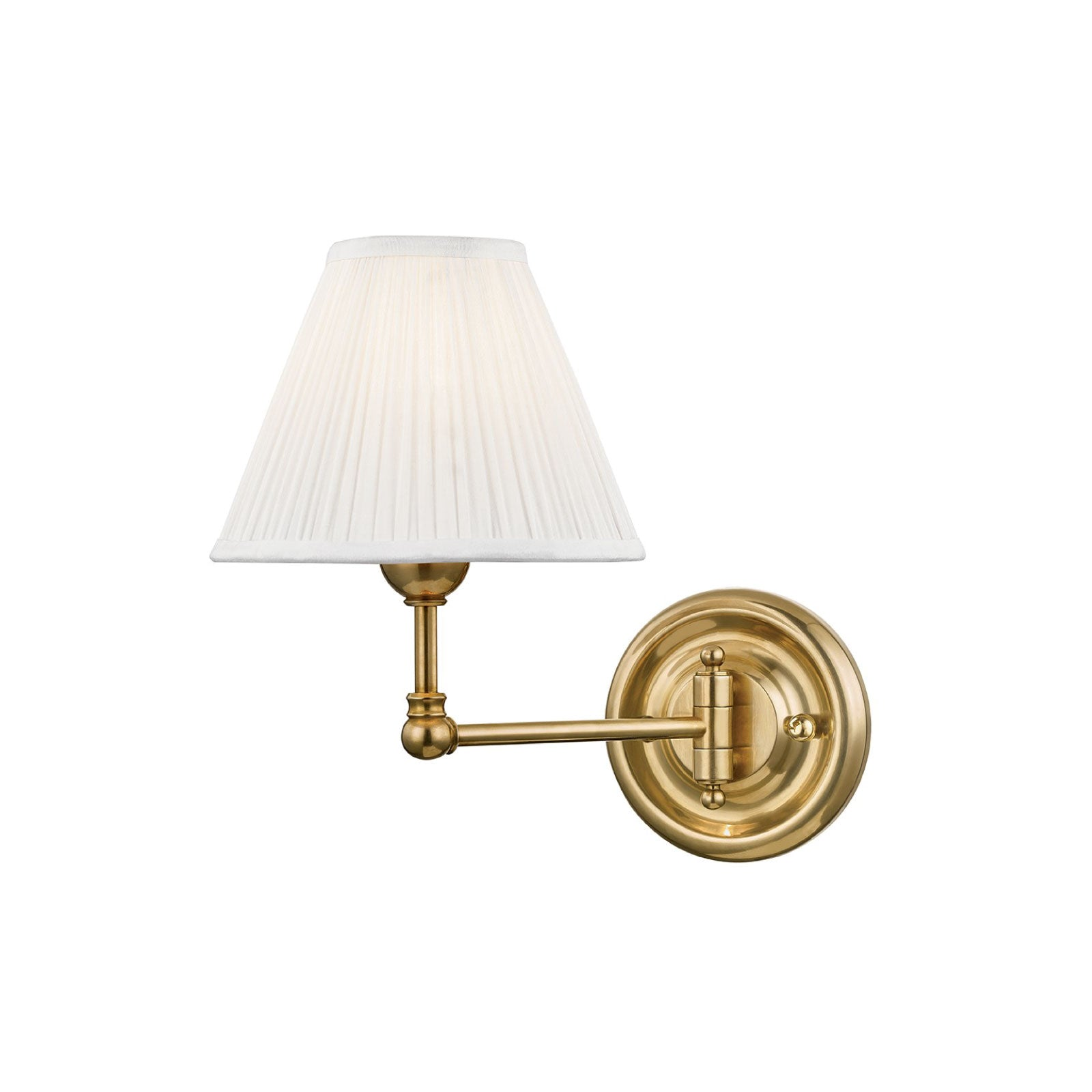 George Sconce in Brass