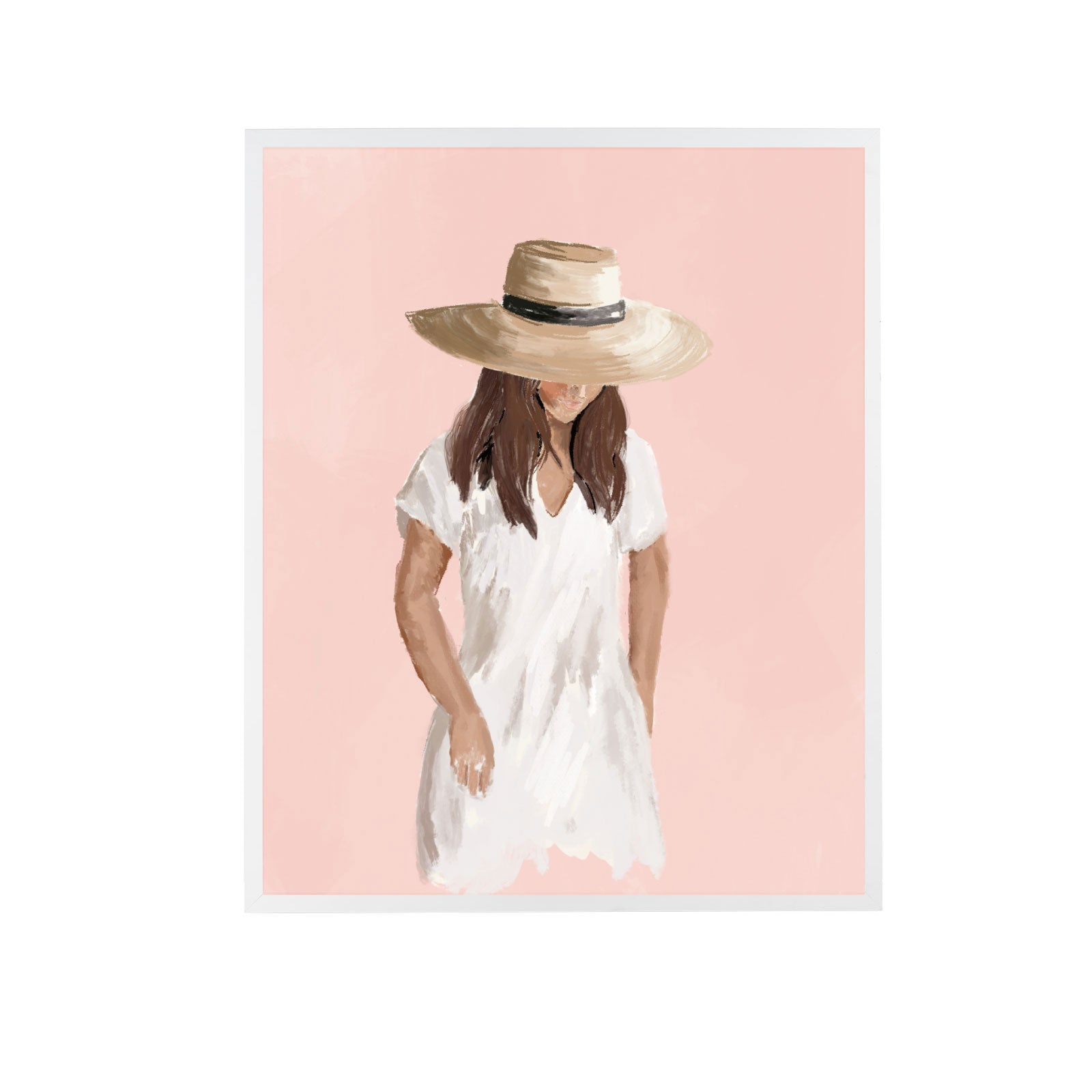 Girl in Sunhat I