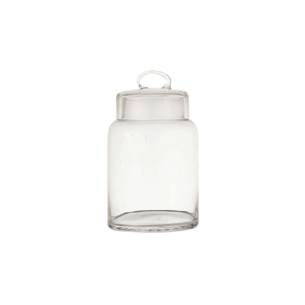 Small Lidded Glass Jar