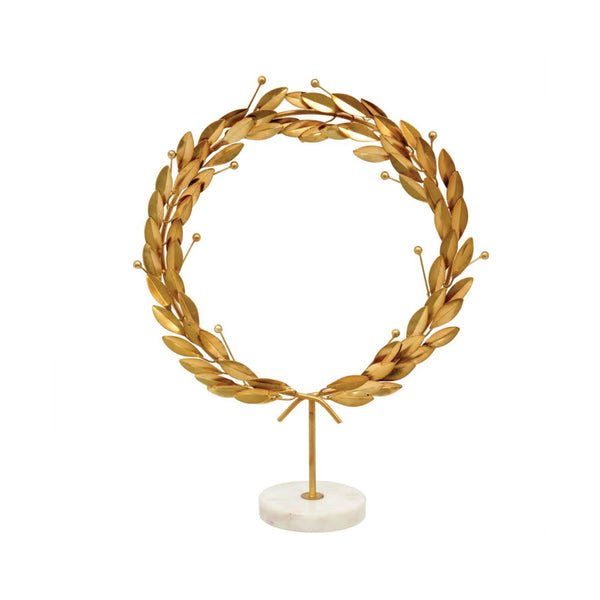 Grecian Wreath Statue
