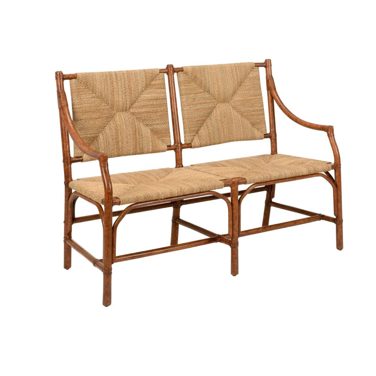 Hannah Bench in Brown