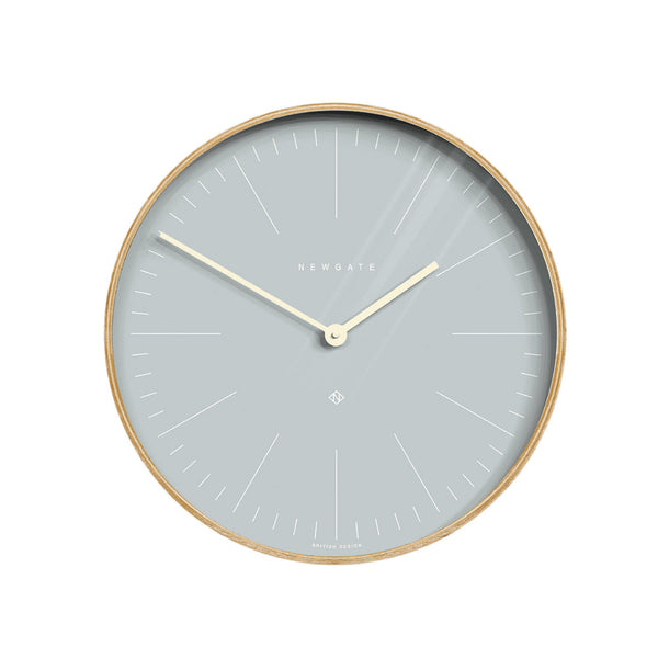 Hello Alice Wall Clock in Soft Blue