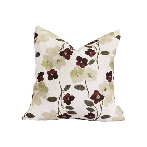 Holly Floral Pillow