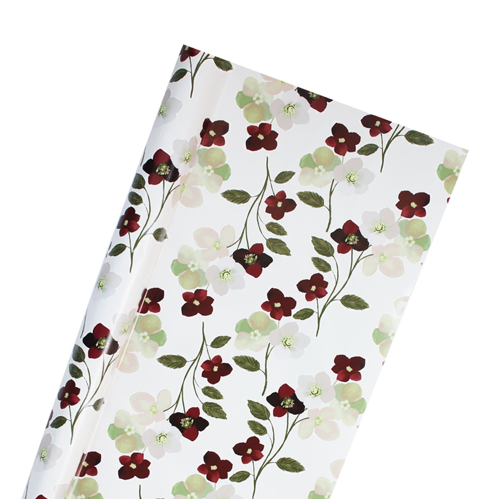 Holly Floral Wrapping Paper