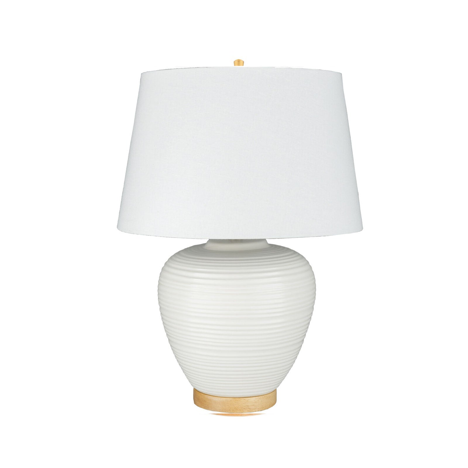Hoxly Lamp in Cream