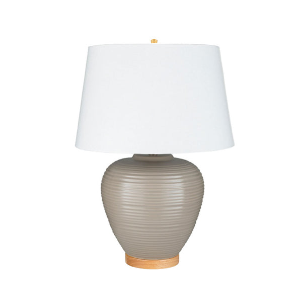 Hoxly Lamp in Taupe