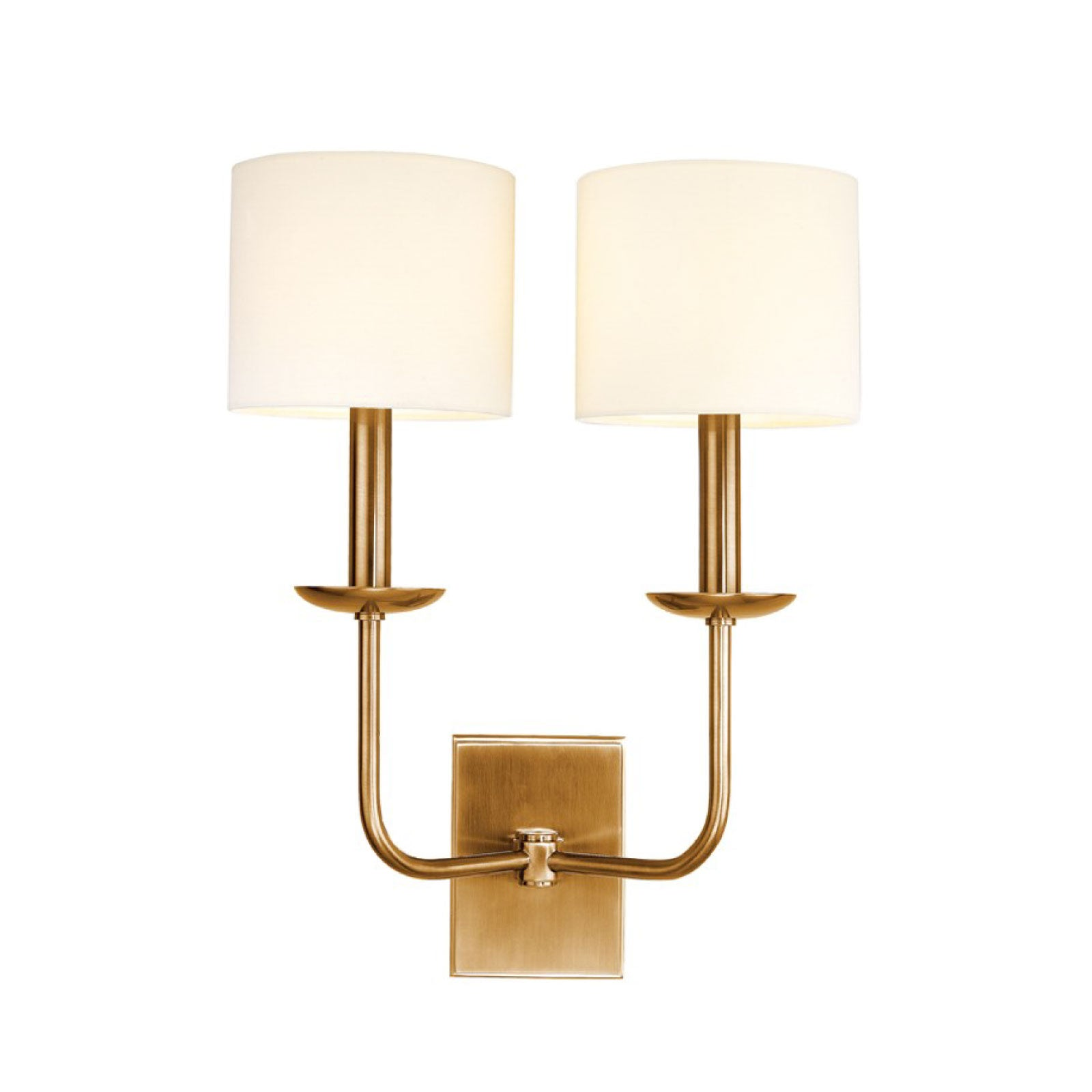 Hudson Sconce in Brass