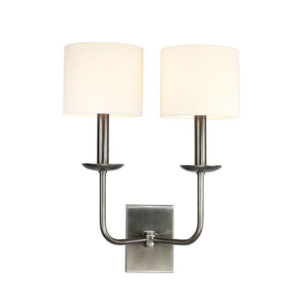 Hudson Sconce in Nickel