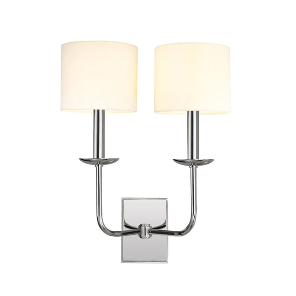 Hudson Sconce in Polished Nickel