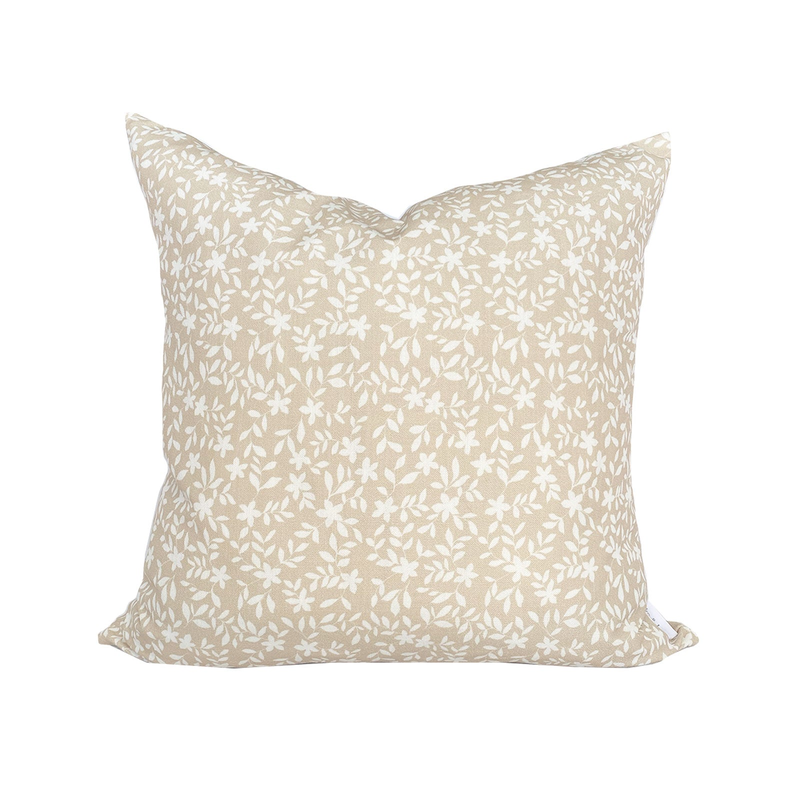 Jo Floral Pillow in Natural