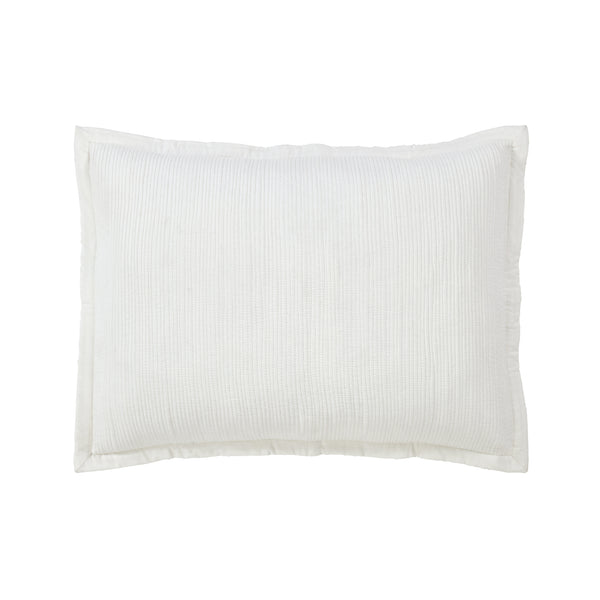 Milan Sham in White