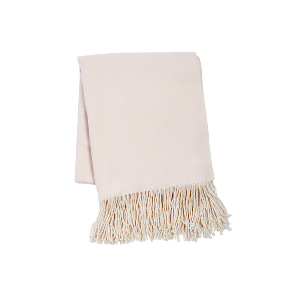 Lake Life Throw in Blush