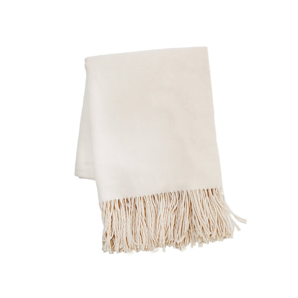 Lake Life Throw in Taupe