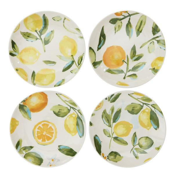 Lemonade Plate Set of 4