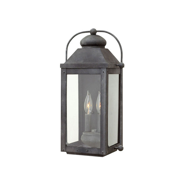 Lincoln Wall Lantern In Zinc